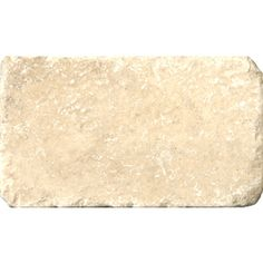 6-in x 3-in Vino Tumbled Natural Travertine Wall and Floor Tile