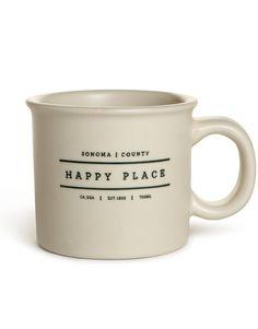 Happy Place Chunky Mug - Sonoma – EssentialsGo