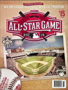 2015 MAJOR LEAGUE BASEBALL ALL STAR GAME MLB STADIUM ISSUE PROGRAM CINCINNATI    #CincinnatiReds
