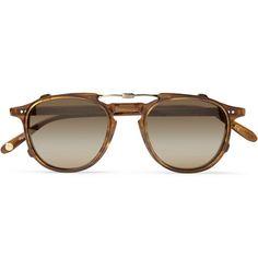 Garrett Leight California Optical Hampton Detachable-Front Acetate Glasses | MR PORTER