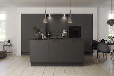 Køkkendesign til det moderne liv: Find dine nye køkkenmøbler Kitchen Dining, Dining Room, Interior Design Inspiration, Kitchen Inspiration, Modern Kitchen Design, Kitchen Interior, Sweet Home, Kitchens, Furniture
