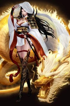 Fantasy Girl, Fantasy Female Warrior, Fantasy Art Women, Fantasy Kunst, Beautiful Fantasy Art, Dark Fantasy Art, Fantasy Artwork, Female Art, Fantasy Character Design