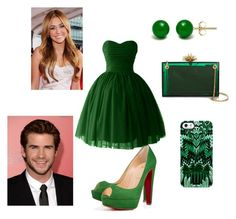 """""""Untitled #87"""" by nikasopkovicova2 on Polyvore featuring Christian Louboutin, Charlotte Olympia, Uncommon and Cyrus"""