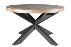 contemporary round wooden table MARLY RONDE  SARL ARCANA
