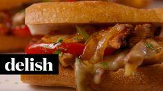 Fajita Chicken Sandwiches | Delish