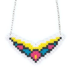 Flower Wing Halsband via Mz Design. Click on the image to see more!