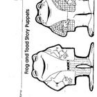 frog finger puppet template - puppets on pinterest finger puppets paper bag puppets