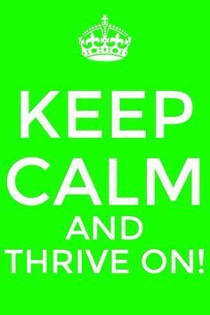Keep calm and thrive on! Order today and change your life forever! www.mereborn.com
