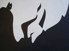 optical illusion Batman