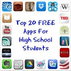 Aplicaciones gratis para la escuela