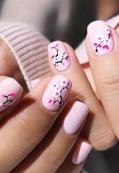 Short Nail Designs: Nail Art Designs for Short Nails to Try nailart shortnails nails manicure naildesigns Pretty Nail Art, Cute Nail Art, Easy Nail Art, Easter Nail Designs, Nail Designs Spring, Short Nail Designs, Cute Nail Designs, Spring Nail Art, Spring Nails