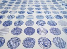 circles... dots... lines...good examples of patterns!-Colette Identity - Leslie David