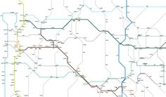 Cameron Booth - massive map of both U.S. highways and interstates