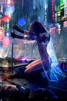 Tagged with art, cyberpunk; Shared by Cyberpunk art dump Arte Cyberpunk, Cyberpunk 2077, Cyberpunk Anime, Cyberpunk Fashion, Art Manga, Art Anime, Anime Artwork, Manga Anime, Cool Animes