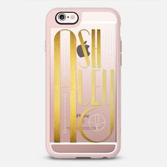 Ashley (Gold Lettering Art Deco) Transparent - New Standard Case  #Ashley #case  #cover #iphone #phone #iphone6s #accessories #fashion #lettering #gold #artdeco #artnoveau #typography #name #transparent