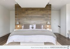 Headboard idea with white or black wall behind it. White sheets