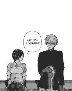 Did anyone just notice that Kaneki spilled his coffee just now. Oh my gosh. She did not just say that.
