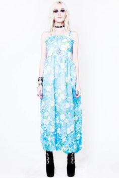 Blue Hawaii Dress - XS