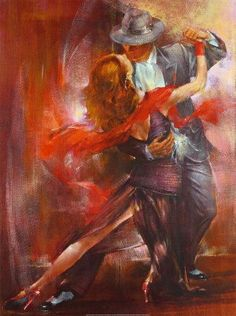 Pedro Alvarez Tango Argentino II painting is shipped worldwide,including stretched canvas and framed art.This Pedro Alvarez Tango Argentino II painting is available at custom size. Oil Painting On Canvas, Painting & Drawing, Canvas Paintings, Canvas Art, Art Triste, Tango Art, Tango Dancers, Dance Paintings, Ballroom Dance