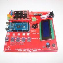 3D Printer Kit for Arduino Mega 2560 R3 + Heated Bed MK2B + RAMPS 1.4 Controller + LCD 2004 + 5x DRV8825 Stepper Driver Module(China (Mainland))