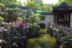 Yu-yuan gardens in Shanghai