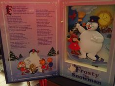 CHRISTMAS/MR.CHRISTMAS/FROSTY THE SNOWMAN/FROSTY/MUSICAL ANIMATED BOOK - 2001 #MRCHRISTMAS