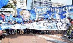 A 41 años del golpe el Movimiento Evita marchó junto a 18 mil compañeros