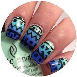 Skinny Chevron Zig Zag Nail Tape, Vinyls, Guides, Stencils, Stickers for Easy Nail Art by Twinkled T Price: $4.99