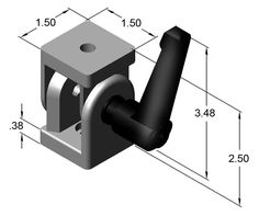 Part #:15HI8700 • Heavy duty construction • Adjustable from 0° to 180° Hardware Included