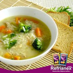 ¿Sabías que la ALIMENTACIÓN tiene un rol importante para mejorar los síntomas de un resfrío? Los primeros días, la dieta debe ser ligera porque el organismo necesita todos sus recursos para combatir la enfermedad. La misma debe ser muy abundante en vegetales (arroz, papas, frutas, verduras y hortalizas) para facilitar la digestión.Mas en  http://on.fb.me/1JhaJOx