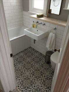 Image result for patterned tile floor bathroom dublin]
