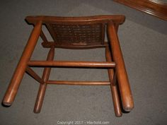 MaxSold - Auction: St. Catharines (Ontario, CANADA) SELLER MANAGED Downsizing Online Auction - Ontario Street ITEM: Vintage Stool -B St Catharines, Vintage Stool, Ontario, Bar Stools, Auction, Canada, Handmade Gifts, Chair, Street