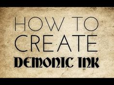 Blender Tutorial: How To Create Demonic Ink - YouTube