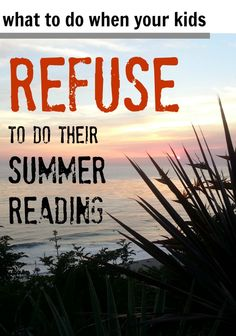 6 tricky ways to support your super-reluctant reader with last-minute summer reading. | me, for @Scholastic #weteach