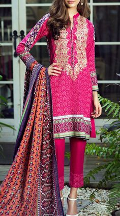 Buy Deep Pink/Purple Embroidered Khaddar Salwar Kameez by Bonanza 2015 Call: (702) 751-3523 Email: Info@PakRobe.com www.pakrobe.com https://www.pakrobe.com/Women/Clothing/Buy-Winter-Salwar-Kameez-Online #Winter_Salwar_kameez