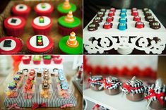 Cars themed birthday party via Kara's Party Ideas Disney