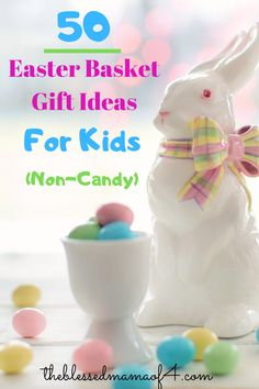 Easter basket gift ideas for kids - The Blessed Mama of 4 Informations About Easter basket gift idea Easter Gifts For Kids, Easter Gift Baskets, Basket Gift, Easter Crafts, Crafts For Kids, Gifts For Pregnant Women, About Easter, Diy Easter Decorations, Easter Holidays