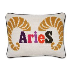 Aries Zodiac Pillow
