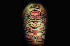 HAIDA SLEEVE tattoo - Google Search