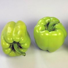 Sweet Pompeii Pepper Plant- Naturally dwarf variety producing sweet tasting, blocky fruits abundantly throughout the season. #pepper #plant