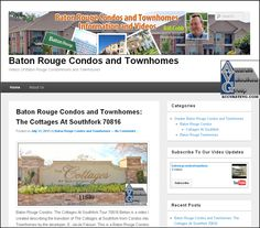 Condos, Townhouse, This Is Us, Cottage, Website, Videos, Baton Rouge, Terraced House, Cottages