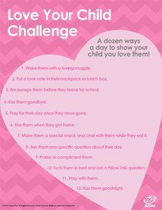 Love Your Child Challenge