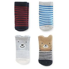 Just One You™Made by Carter's® Baby Boys' 4 Pack Character Socks : Target