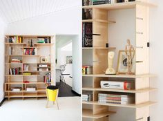 Pedersen+Lennard shelf  - Photographer: Henk Hattingh