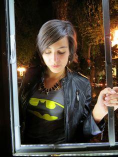 Batman outfit- fashion blog