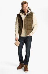 Hunter Hooded Down Vest & John Varvatos Star USA Jeans