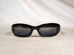 fabulous vintage sunglasses lunettes CHRISTIAN LACROIX carved