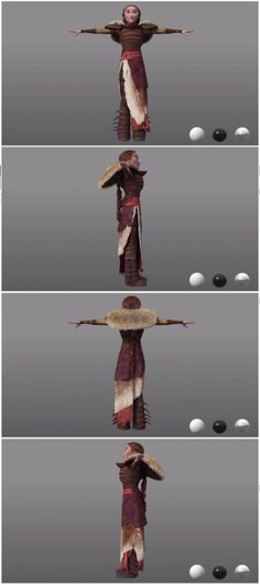 Valka costume reference