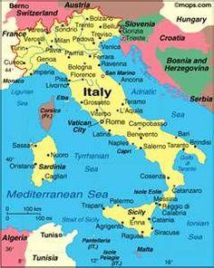 Sardinia map