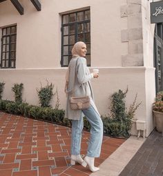 Hijab Casual, Cute Casual Outfits, Hijab Outfit, Modest Outfits, Modest Clothing, Islamic Fashion, Muslim Fashion, Modest Fashion, Fashion Outfits